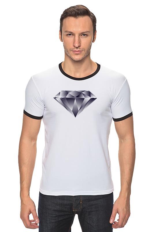 Футболка Рингер Printio Алмаз алмаз мебель