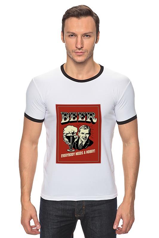 Футболка Рингер Printio Пиво! жигулевское пиво рязань где