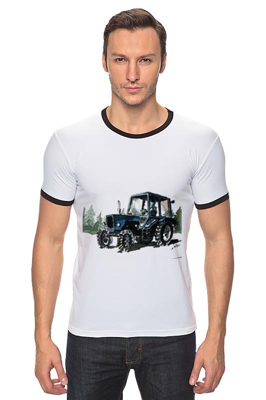 Футболка Рингер Printio трактор от михаила доманова отсутствует автомир 35 2017