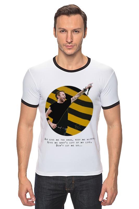 Футболка Рингер Printio Rise against купить часы с изображением музыкальной группы