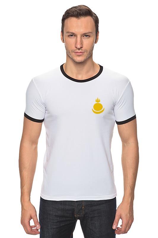 Футболка Рингер Printio Соёмбо футболка рингер printio оранжевое солнце
