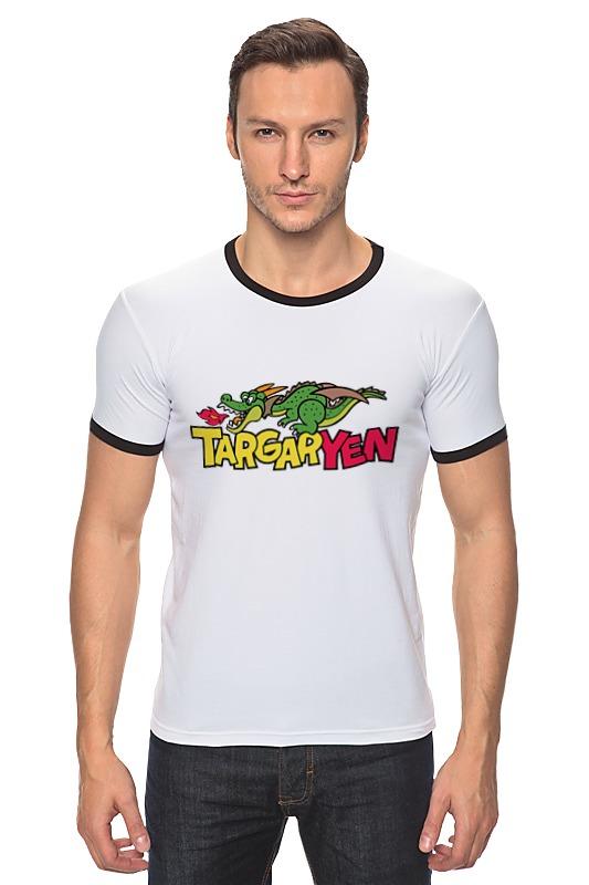 Футболка Рингер Printio Таргариен (targaryen)