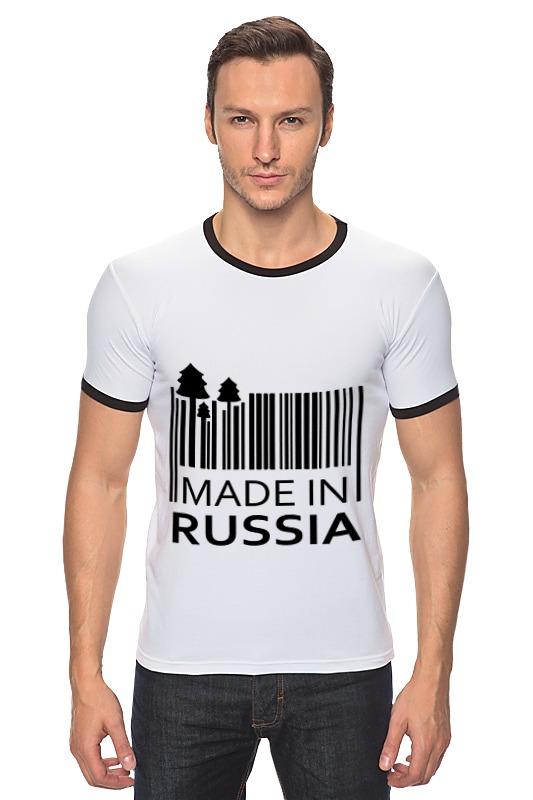 Футболка Рингер Printio Made in russia russia made матрешка 5м совушка вариант a