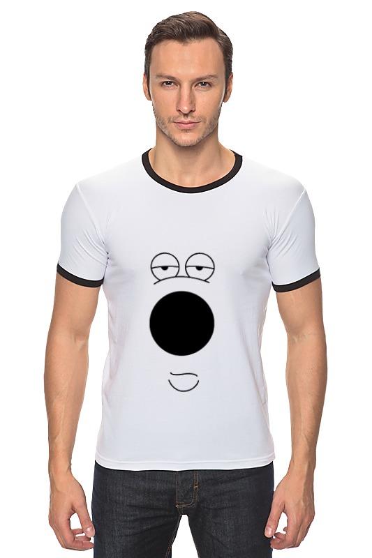 Футболка Рингер Printio Брайан гриффин футболка рингер printio гриффины