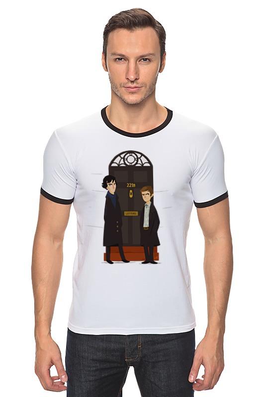 Футболка Рингер Printio Шерлок холмс (sherlock holmes) dayle a c the adventures of sherlock holmes рассказы на английском языке