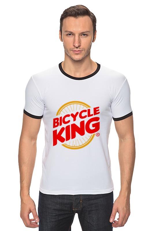 Футболка Рингер Printio Велосипедный  король deroace велосипедный цепной стальной замок для электрокара электро мотороллера мотора