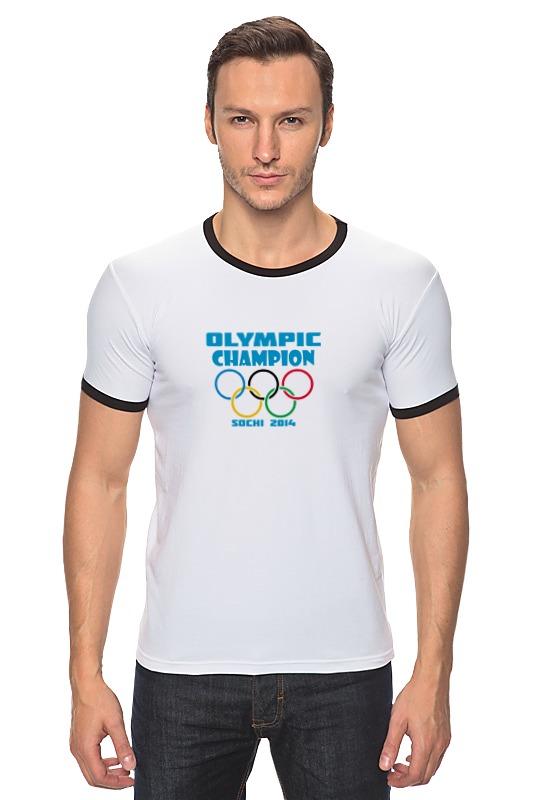 Футболка Рингер Printio Olympic champion цена
