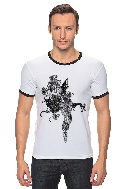 Футболка Рингер Printio Ядовитый плющ футболка рингер printio черно белый питер
