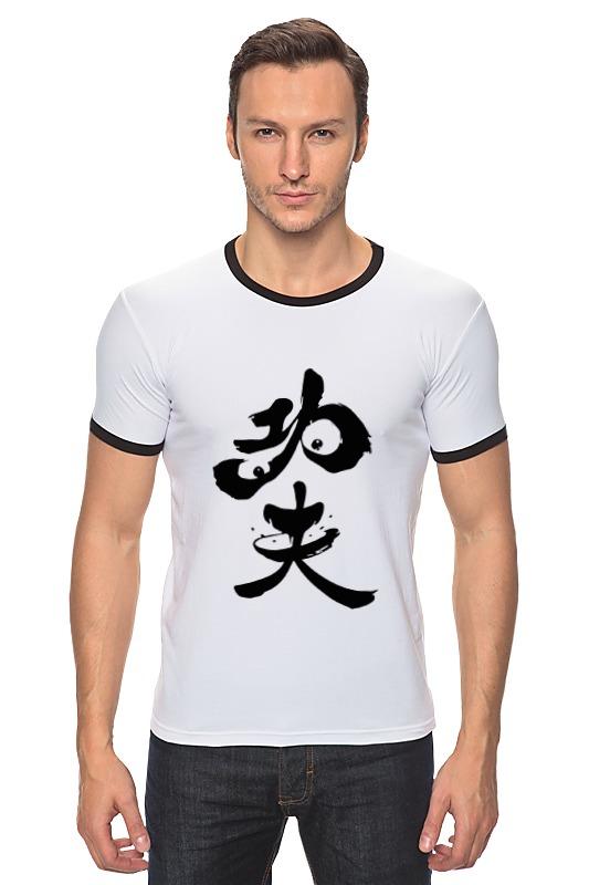 Футболка Рингер Printio Kung fu panda аксессуар man kung тетива для блочного арбалета mk 350s
