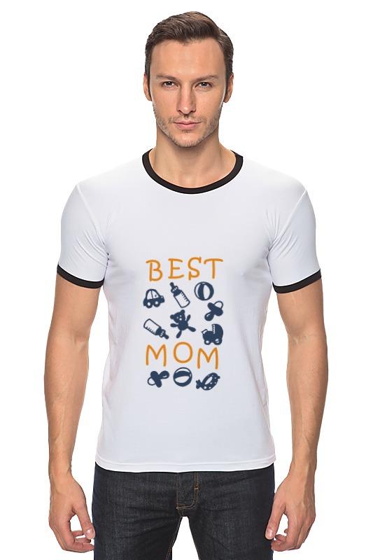 Футболка Рингер Printio Best mom футболка для беременных printio stay best mom in the world