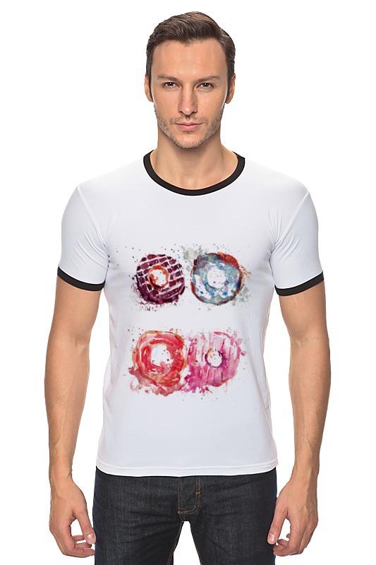Футболка Рингер Printio Пончики! donuts футболка классическая printio пончики donuts