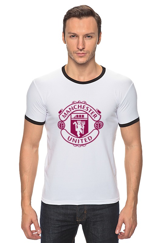 Футболка Рингер Printio manchester united футболка стрэйч printio manchester united