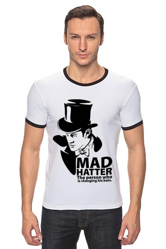 Футболка Рингер Printio Mad hatter (doctor who)