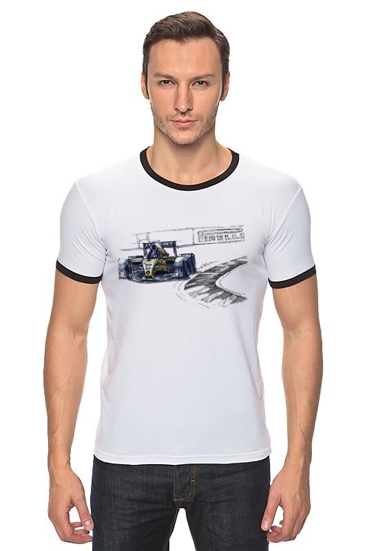Футболка Рингер Printio Formula 1 футболка formula joven formula joven mp002xw1b0pp