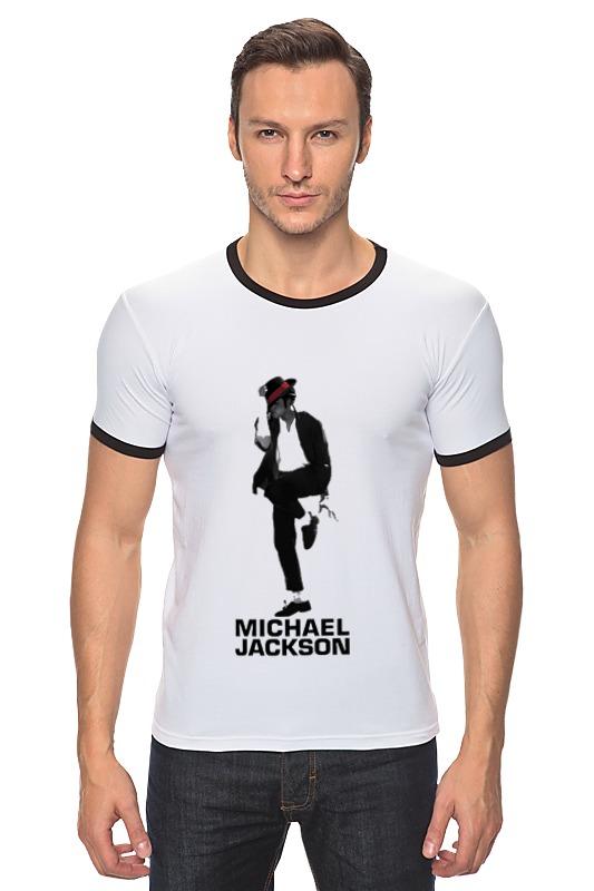 Футболка Рингер Printio Michael jackson sarah jackson футболка