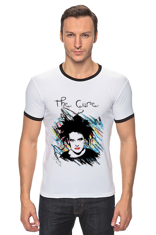 Футболка Рингер Printio The cure футболка для беременных printio the cure wish