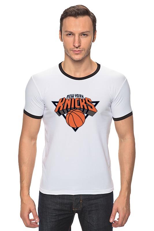 Футболка Рингер Printio Нью-йорк никс футболка с полной запечаткой printio нью йорк никс
