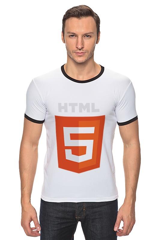Футболка Рингер Printio Html5 сумка printio html5