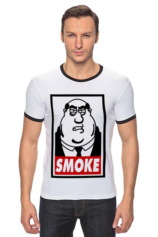 Футболка Рингер Printio Смоук (гриффины) футболка рингер printio гриффины