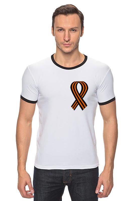 Футболка Рингер Printio Георгиевская лента футболка рингер printio война никогда не меняется