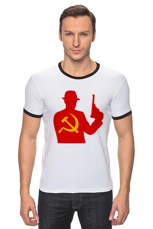 Футболка Рингер Printio Russian mafia russian phrase book