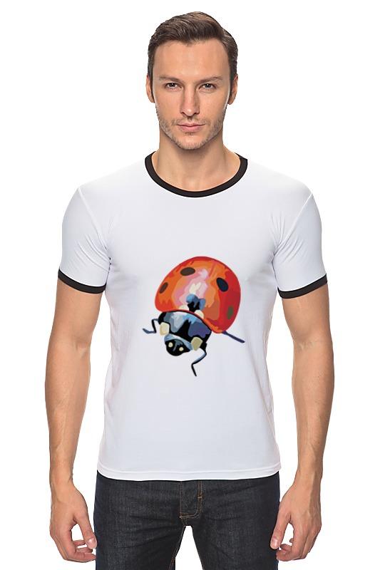 Футболка Рингер Printio Божья коровка бк 04 магнит божья коровка 35мм 780420
