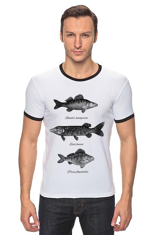Футболка Рингер Printio Коллекция рыб коллекция