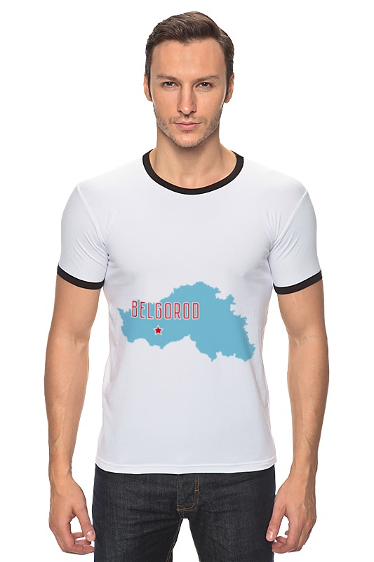 Футболка Рингер Printio Белгородская область. белгород каталог рио белгород
