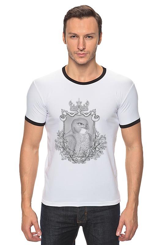 Футболка Рингер Printio Тотем сокол футболка для беременных printio олень тотем