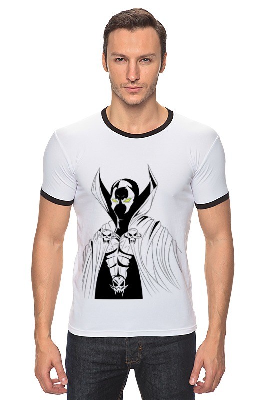 Футболка Рингер Printio Спаун (spawn) футболка с полной запечаткой printio спаун spawn