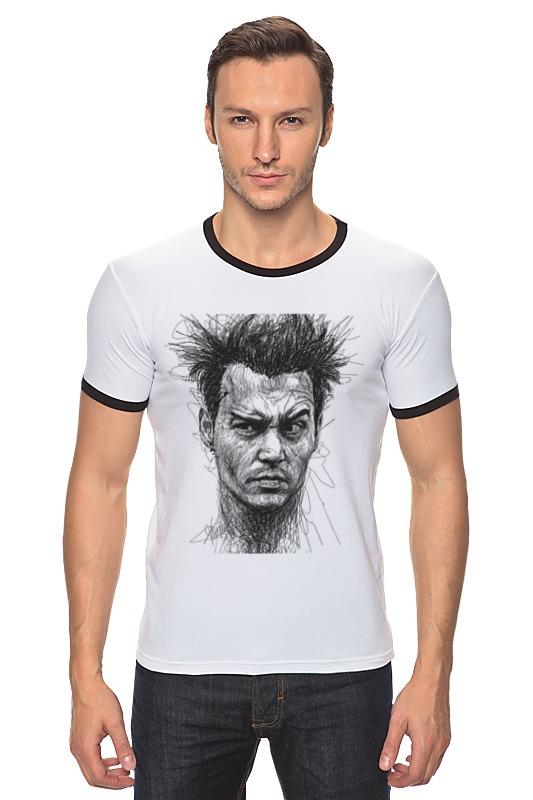 Футболка Рингер Printio Johnny depp футболка стрэйч printio johnny depp