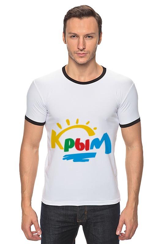Футболка Рингер Printio Крым. россия