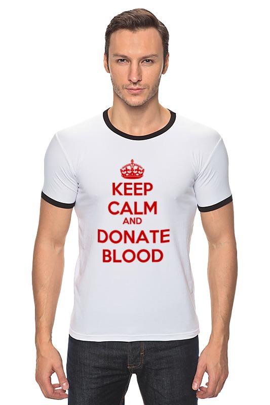 Футболка Рингер Printio Keep calm art футболка wearcraft premium printio keep calm