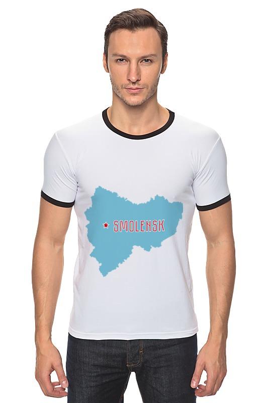 Футболка Рингер Printio Смоленская область. смоленск