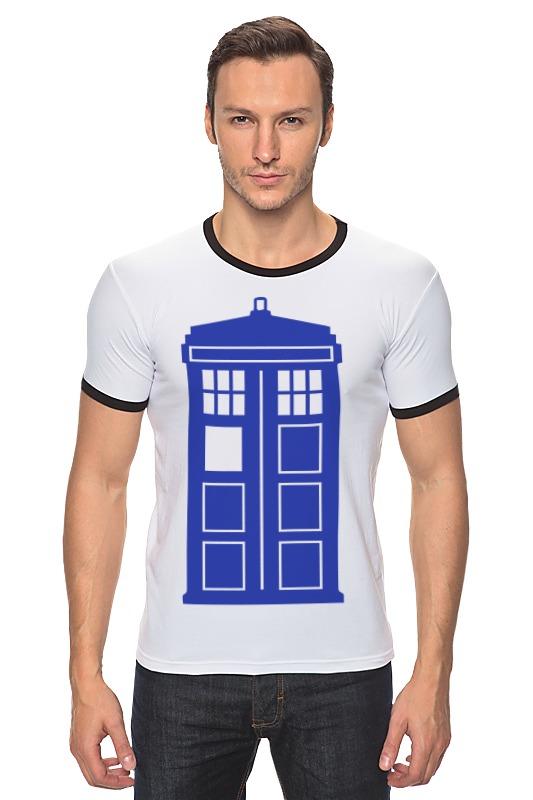 Футболка Рингер Printio Tardis (тардис) футболка рингер printio тардис доктор кто