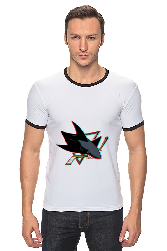 Футболка Рингер Printio San jose sharks футболка wearcraft premium printio сан хосе шаркс