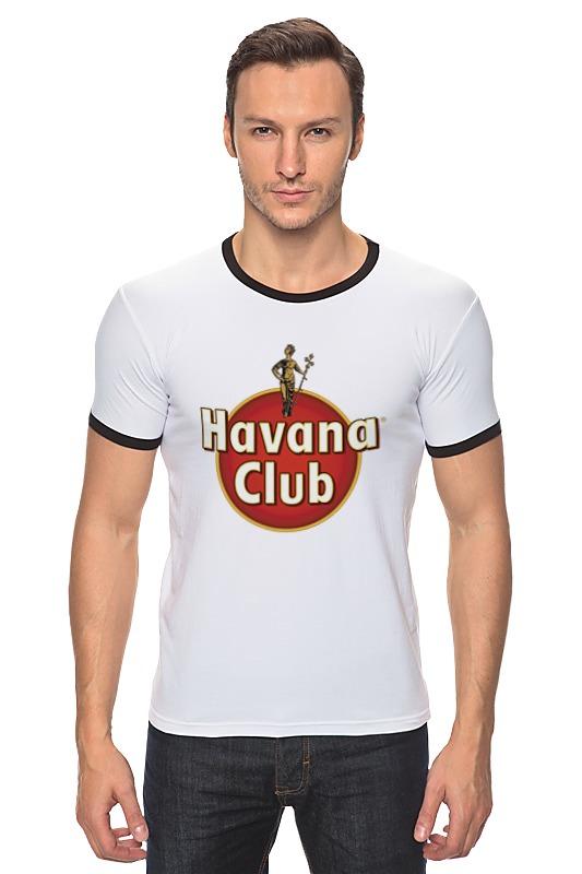 Футболка Рингер Printio Havana club havana club anejo reserva
