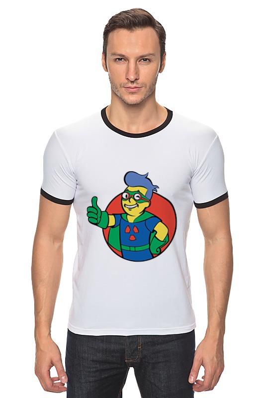 Футболка Рингер Printio Фоллаут (  fallout ) футболка классическая printio fallout фэллаут