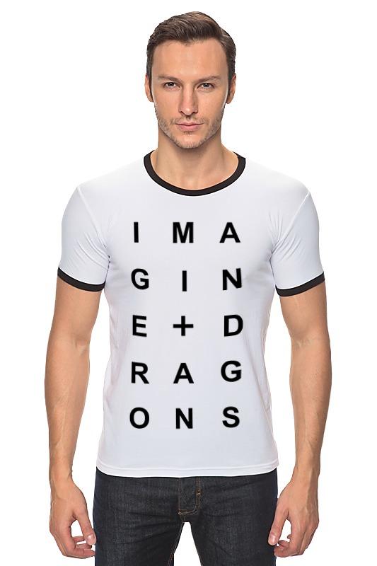 Футболка Рингер Printio Imagine dragons dragons фигурка toothless сидящий