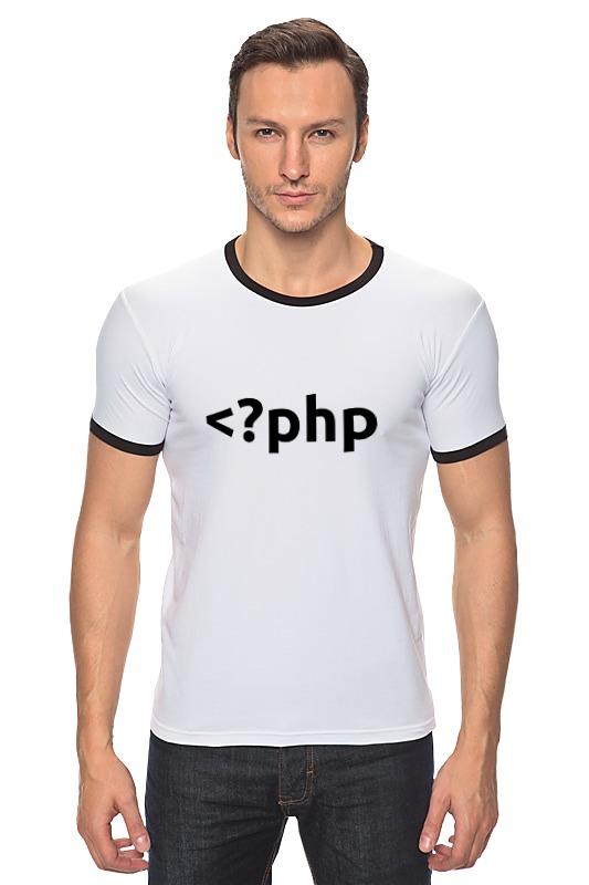 Футболка Рингер Printio Php tag сумка printio php tag