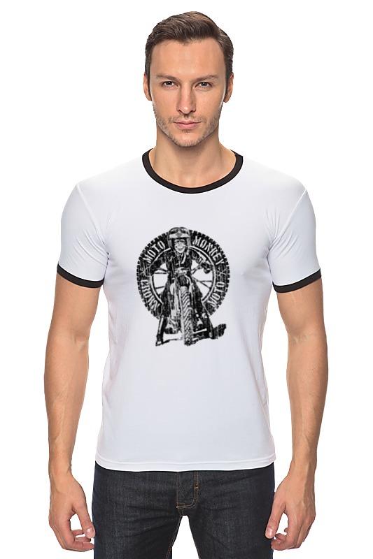 Футболка Рингер Printio Moto monkey футболка moto