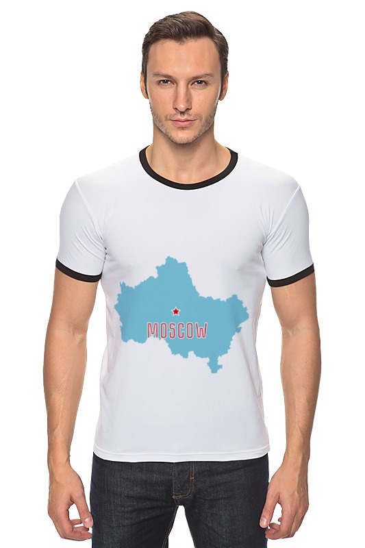 все цены на Футболка Рингер Printio Московская область. москва онлайн