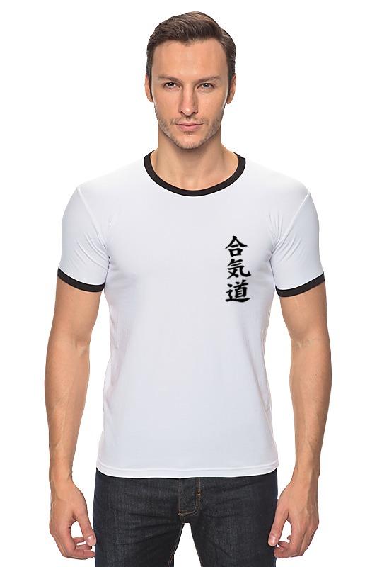 Футболка Рингер Printio Айкидо футболка для беременных printio айкидо