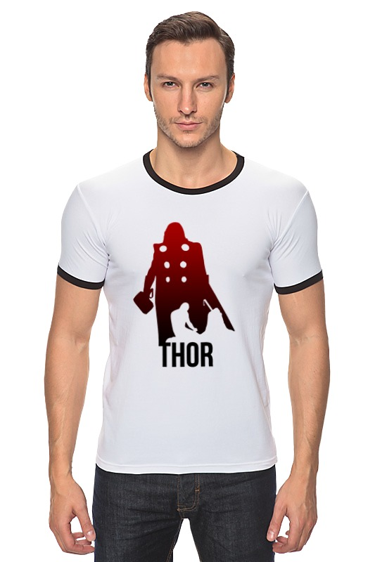 Футболка Рингер Printio Тор - герой футболка asics футболка layering top