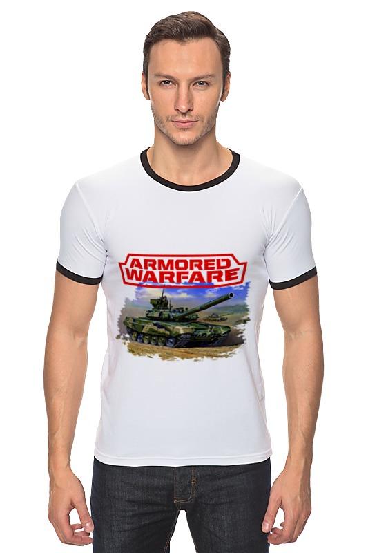 Футболка Рингер Printio Armored warfare футболка print bar modern warfare 2