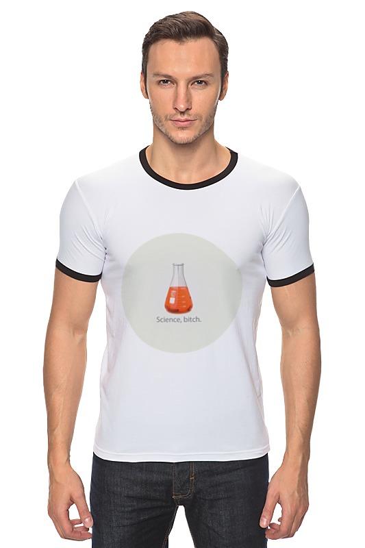 Футболка Рингер Printio Science футболка классическая printio yeah science bitch breaking bad