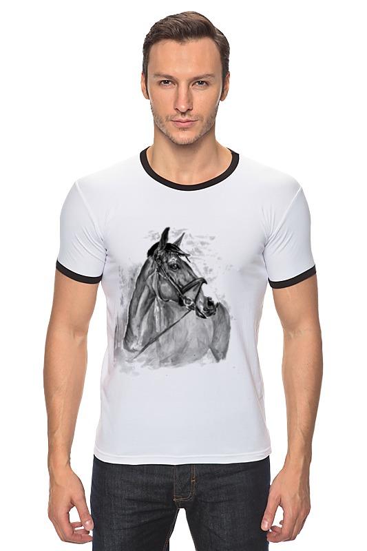 Футболка Рингер Printio с новым годом лошади лошади 2284