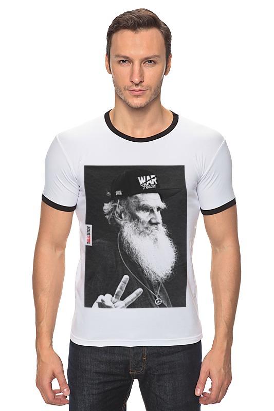 Футболка Рингер Printio tolstoy by design ministry футболка рингер printio spb t shirt by design ministry