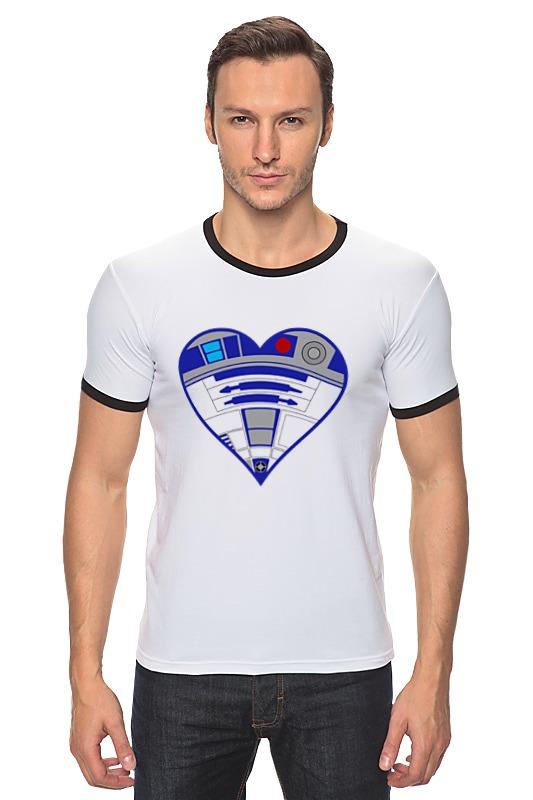 Футболка Рингер Printio R2-d2 (star wars) футболка классическая printio r2 d2 star wars