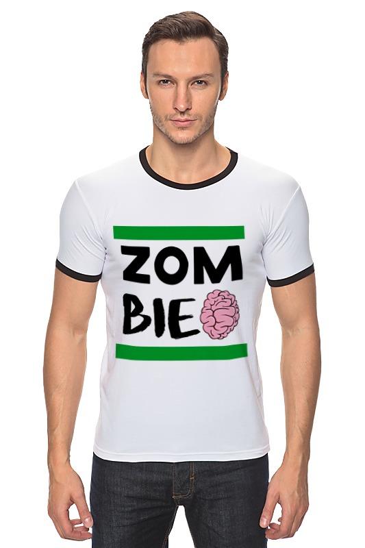 Футболка Рингер Printio Зомби (zombie)